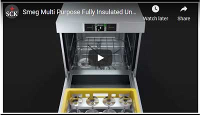 No. 1 Smeg UD516DAUS Special Line Multi Purpose Fully Insulated Underbench Dishwasher