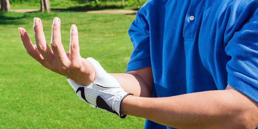 The Dreaded Golf Trigger Finger Injury - Put a Stop to It Now