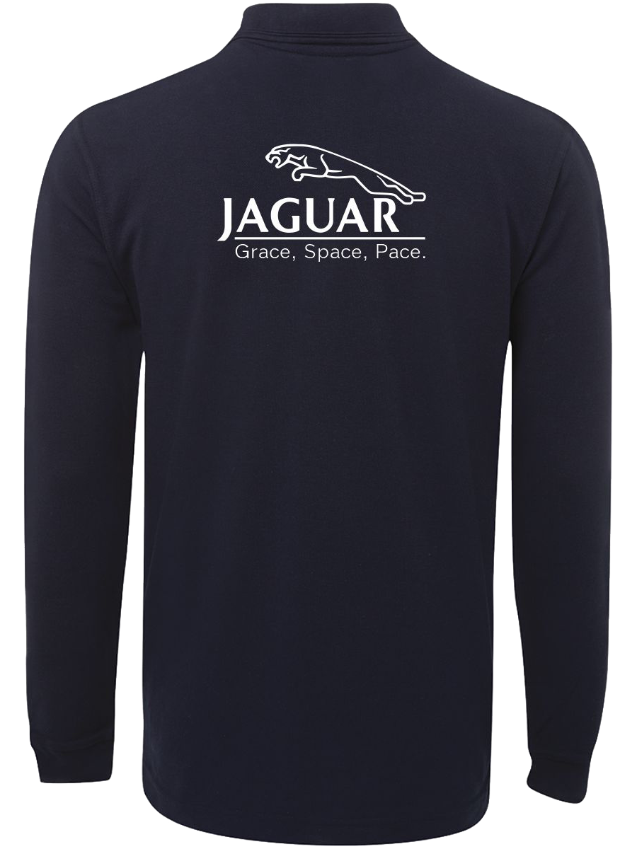Limited Release Navy Long Sleeve Polo