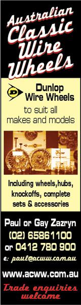 Australian Classic Wire Wheels