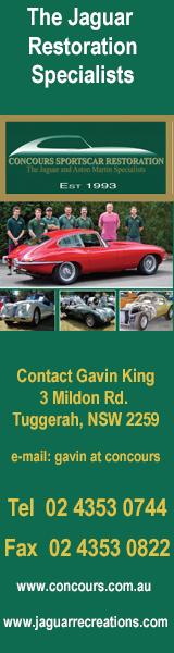 Concours Sportscar Restorations