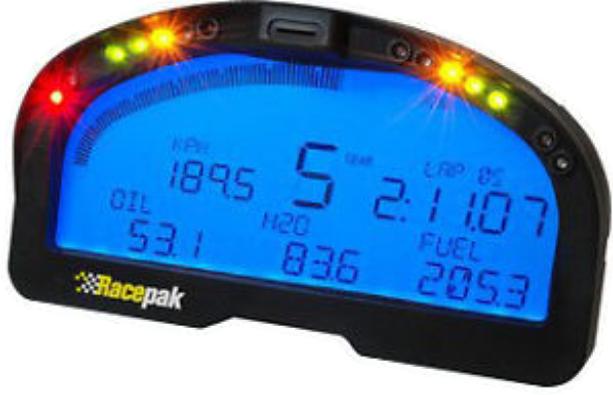 Racepak dash IQ3